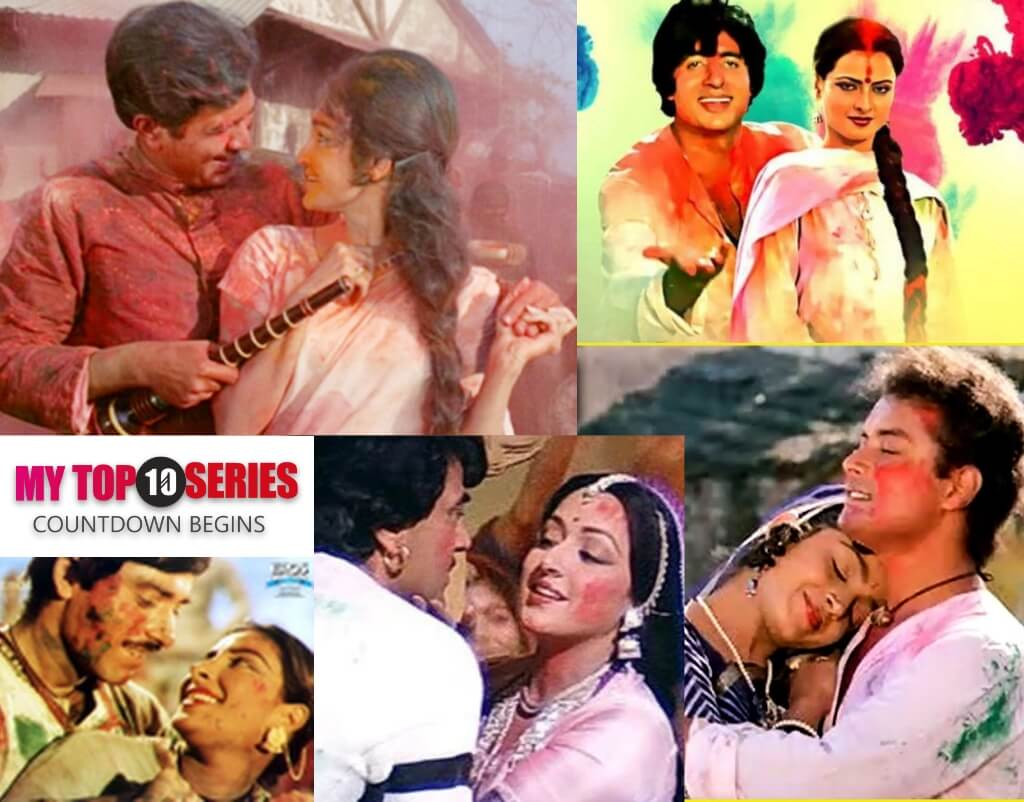 Top 10 Retro Bollywood Holi Songs 2020